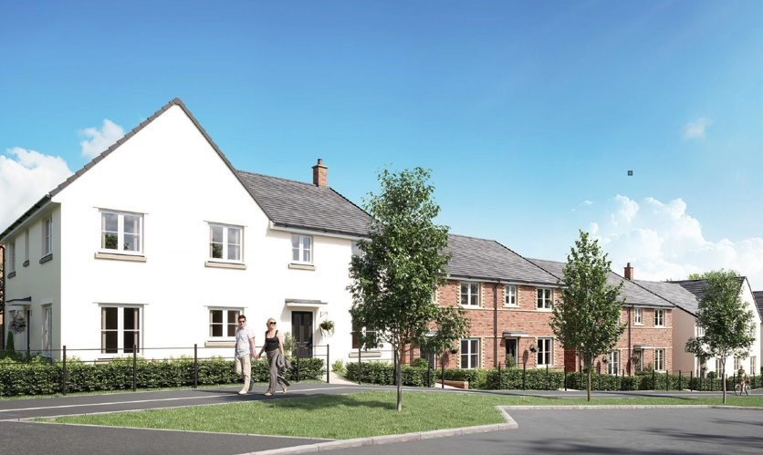 SIGNIFICANT STEP FORWARD AS WORK STARTS ON THE FIRST HOMES AT ORCHARD GROVE